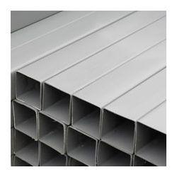 PVC REGENWATERBUIS GRIJS 100X100MM VIERKANT 3M